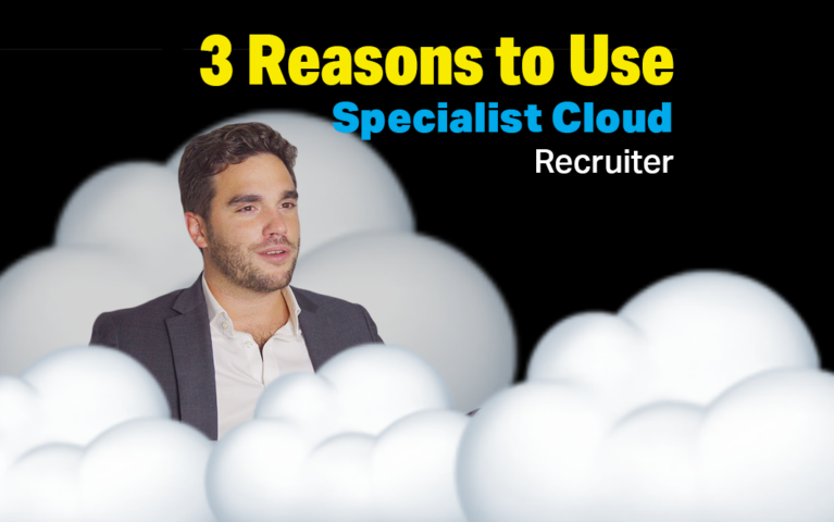 3 Reasons To Work With Cloud Recruitment Specialists
