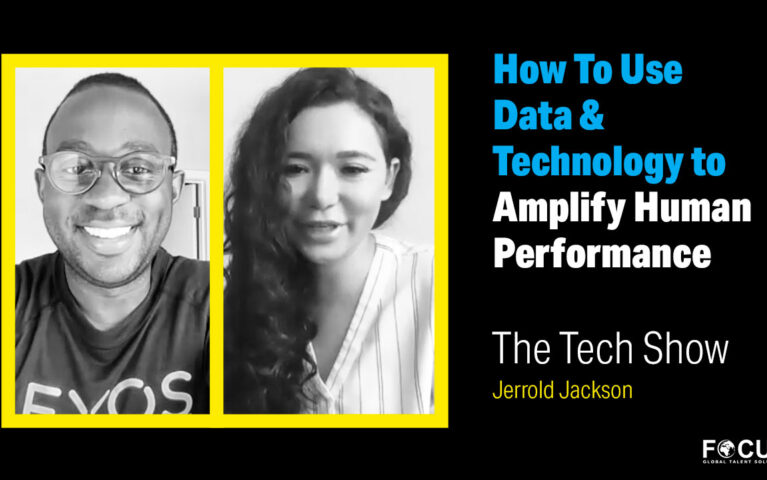How To Use Data & Technology to Amplify Human Performance