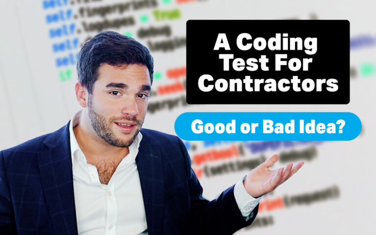 A Coding Test for Contractors: Good or Bad Idea?